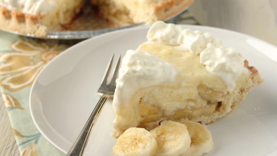 Banana Cream Pie Recipe  banana cream pie