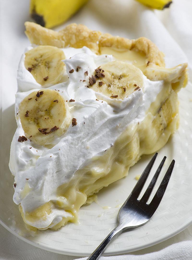 Banana Cream Pie  Old Fashioned Banana Cream Pie OMG Chocolate Desserts