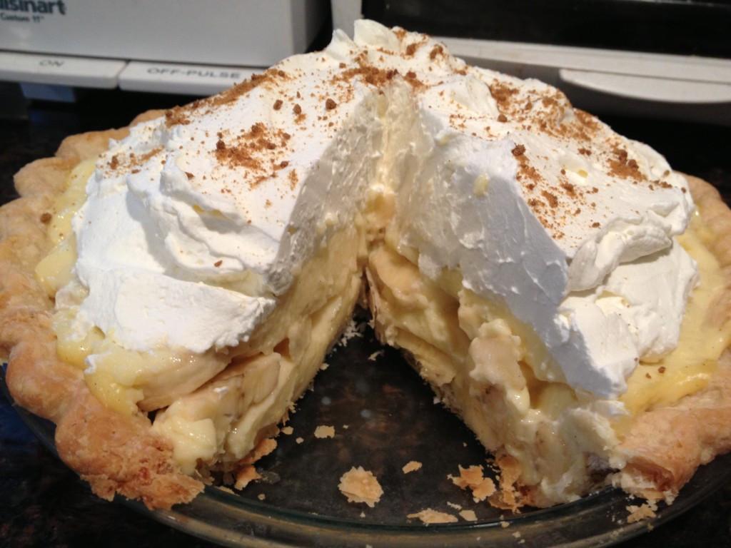 Banana Cream Pie  Banana Cream Pie CurvyMama Pies
