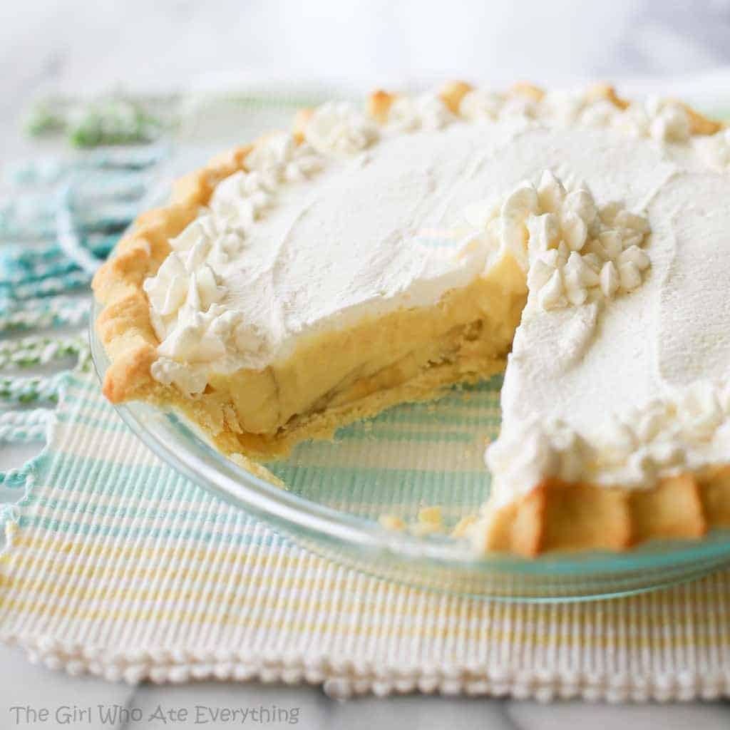 Banana Cream Pie  Banana Cream Pie