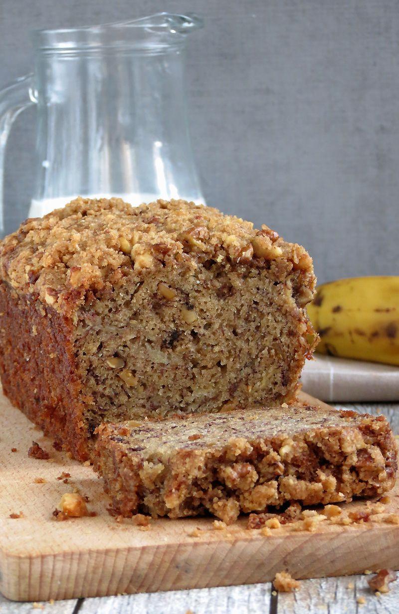 Banana Nut Bread With Brown Sugar  brown sugar banana nut bread