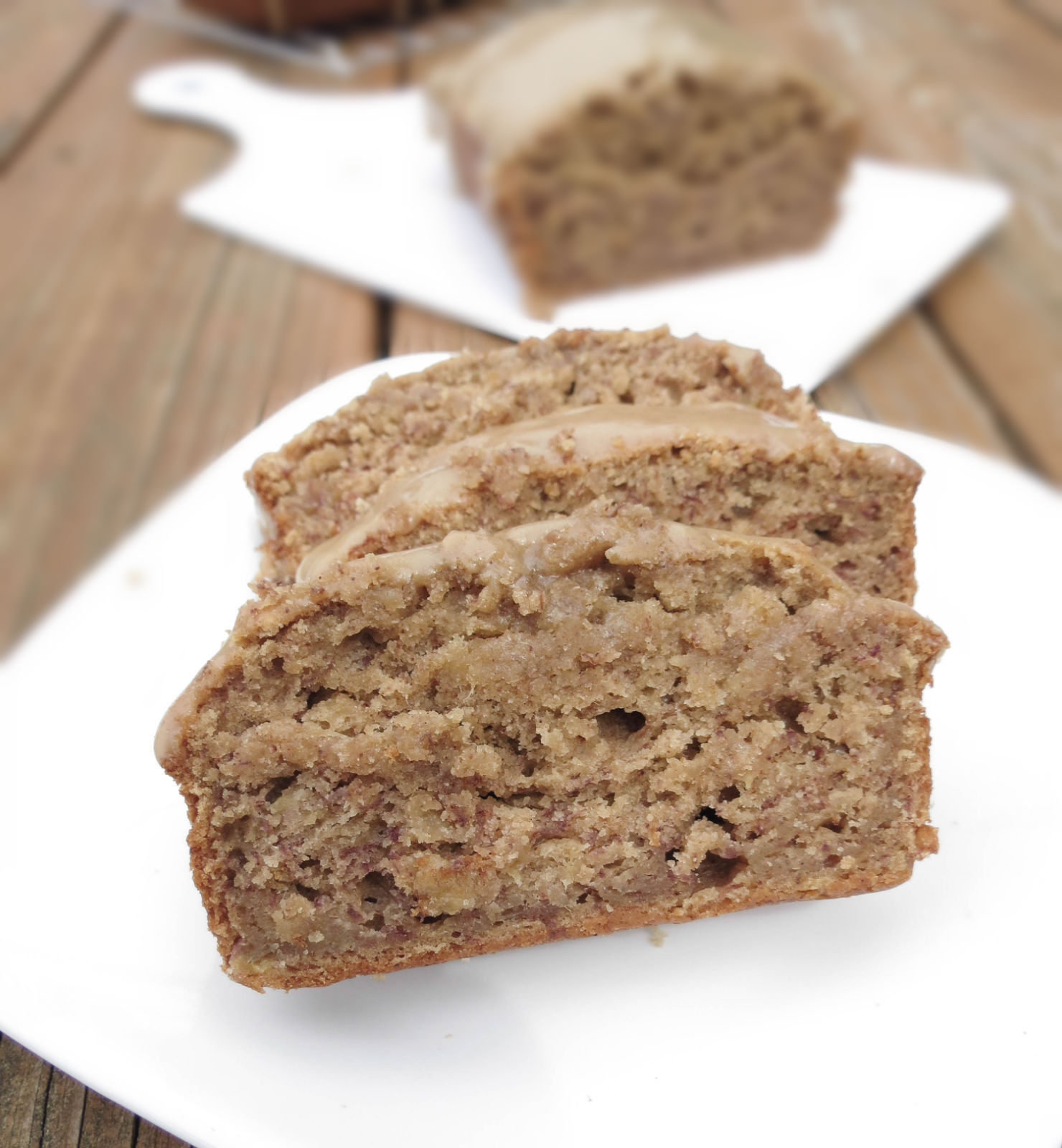 Banana Nut Bread With Brown Sugar  The Best Moist Banana Bread With Brown Sugar Glaze