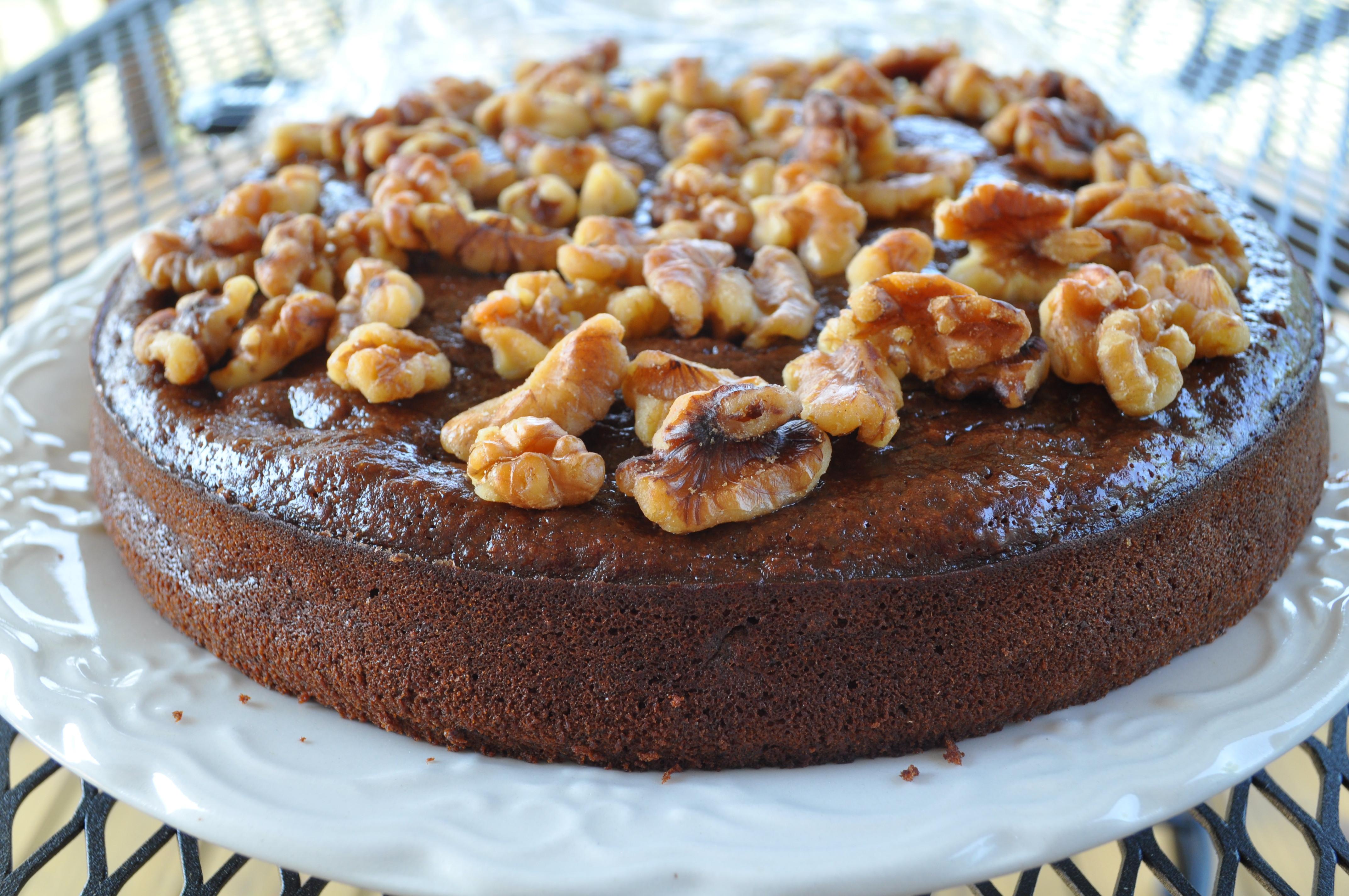 Banana Nut Cake  Chocolate Banana Nut Cake