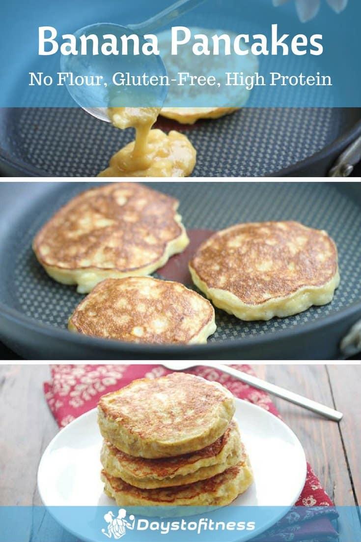 Banana Pancakes No Flour  Gluten Free Banana Pancakes