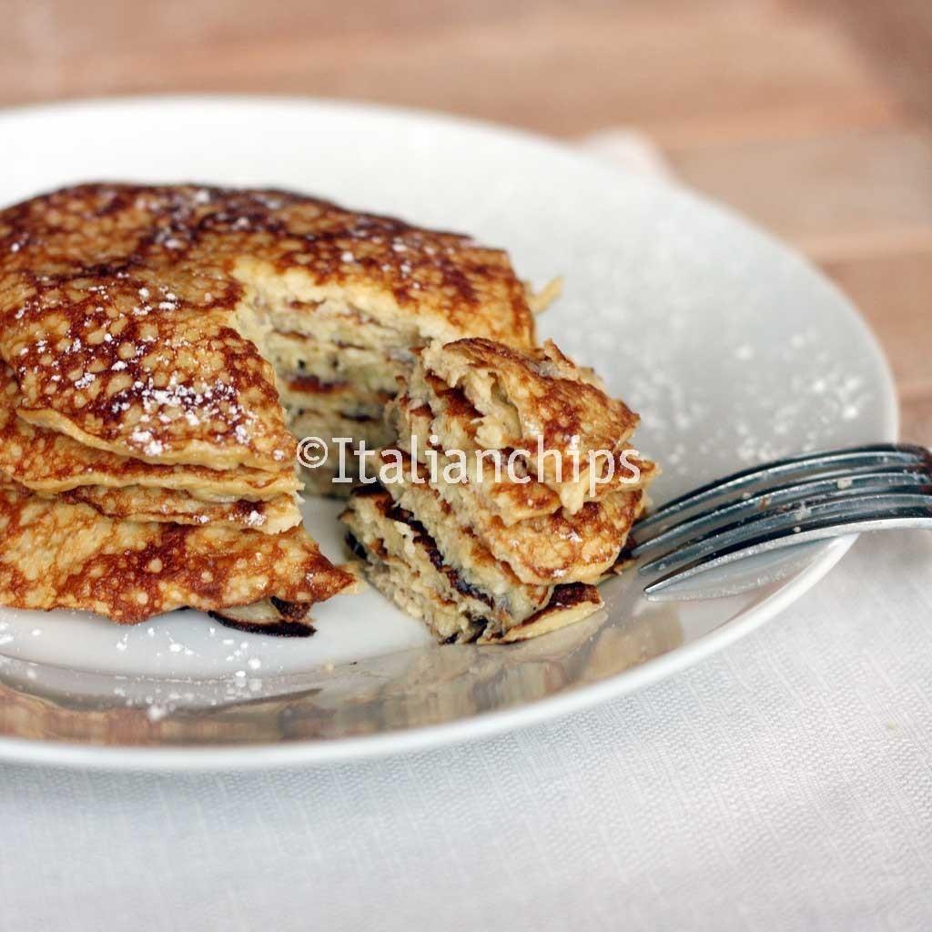 Banana Pancakes No Flour  Irresistible banana pancakes no flour no butter