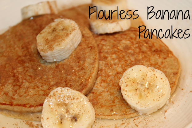 Banana Pancakes No Flour  Gluten Free