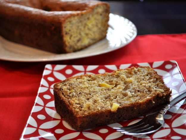 Banana Pineapple Bread  Red Banana Pineapple Bread Recipe