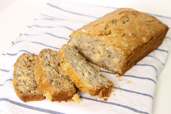 Banana Pineapple Bread  Banana Pineapple Bread Recipe Just Short of Crazy