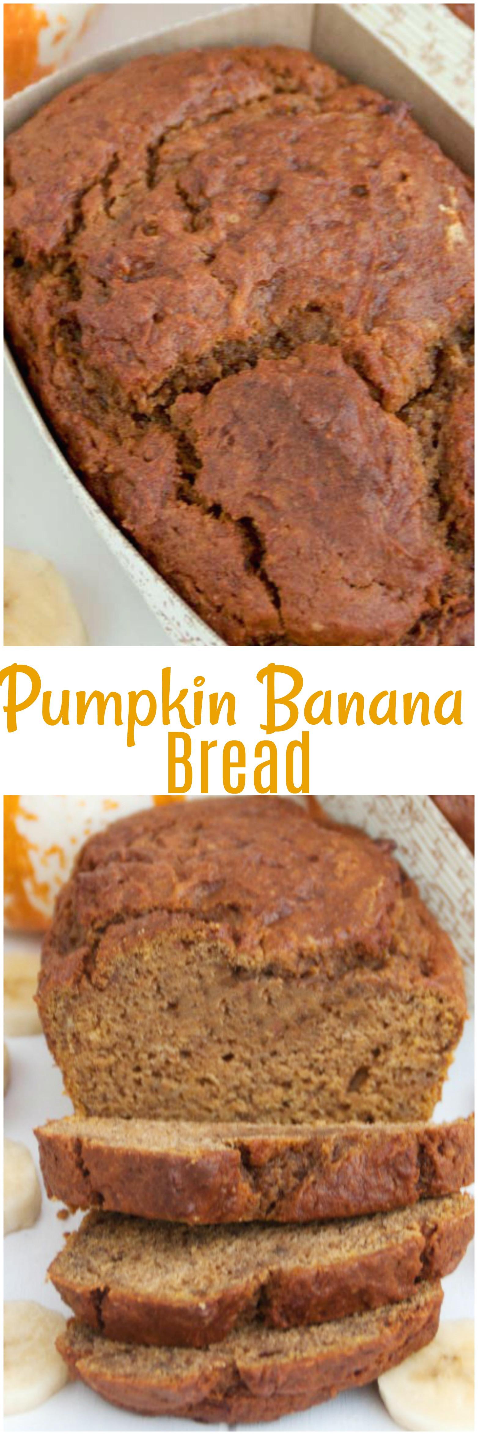 Banana Pumpkin Bread  Pumpkin Banana Bread • Mid Momma