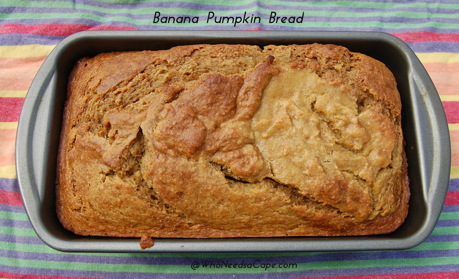 Banana Pumpkin Bread  Banana Pumpkin Bread Who Needs A Cape