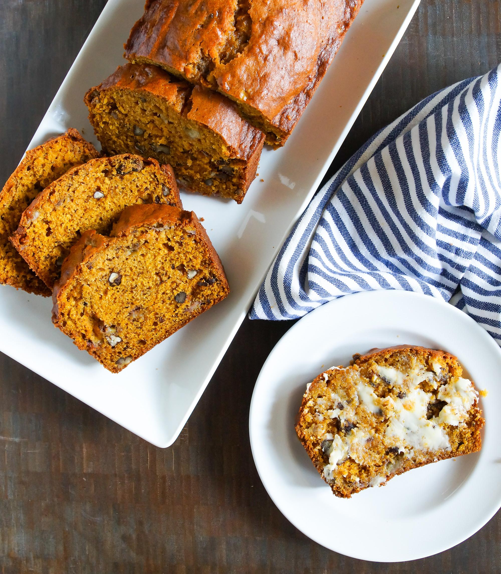 Banana Pumpkin Bread  Pumpkin Banana Bread