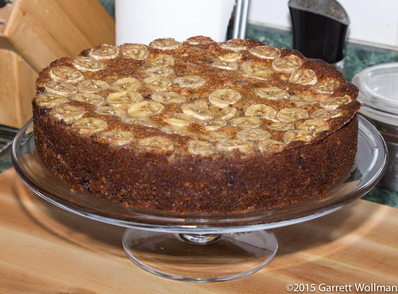 Banana Walnut Cake  Recipe quick takes Zoe Nathan's Chocolate Banana Walnut