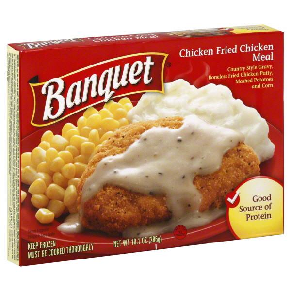 Banquet Frozen Dinners  Home Cookin' – Chicken Fried Chicken – Banquet Frozen