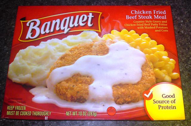 Banquet Frozen Dinners  Banquet Frozen Chicken Fried Steak Meal