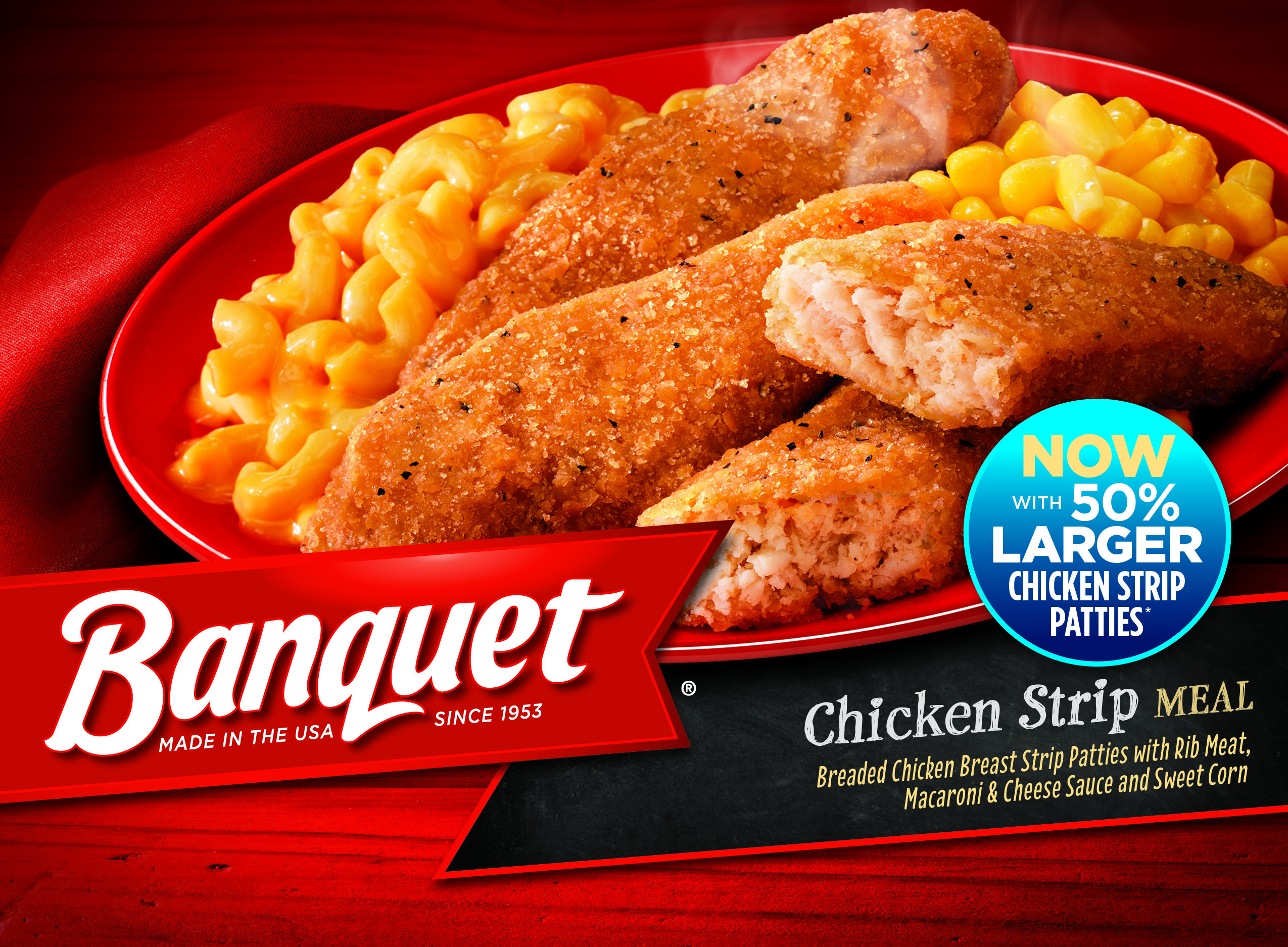Banquet Frozen Dinners  Banquet Makes Improvements to Frozen Meals