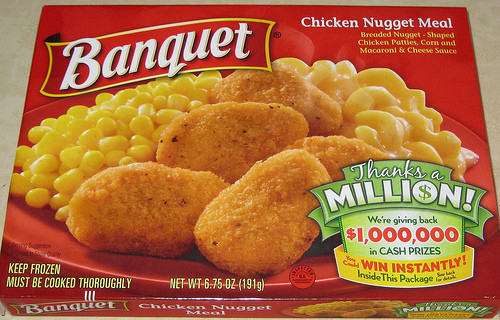 Banquet Frozen Dinners  Review Banquet frozen entrees Mom 3 Girls