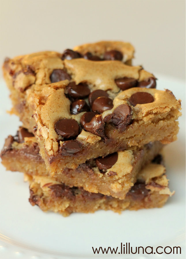 Bar Cookies Recipe  Cheesecake Chocolate Chip Cookie Bars