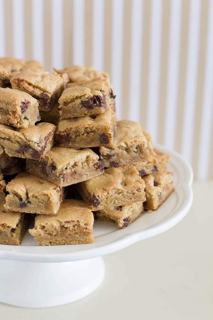 Bar Cookies Recipe  chocolate chip cookie bars