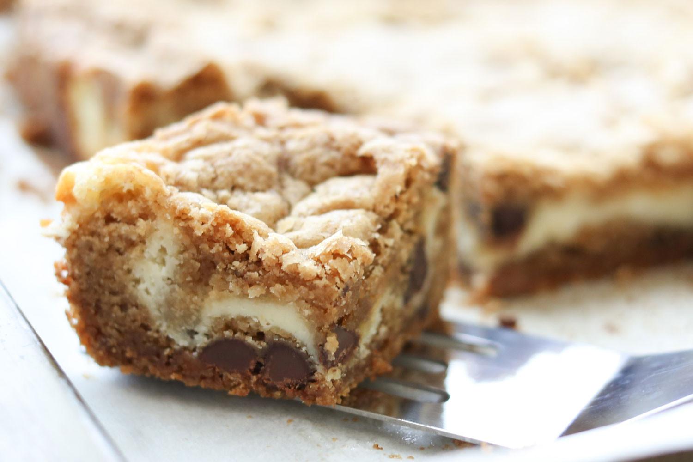 Bar Cookies Recipe  Cheesecake Cookie Bars Recipe — Dishmaps