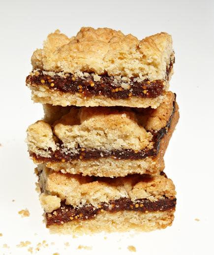 Bar Cookies Recipe  Fig Crumb Bars Recipe