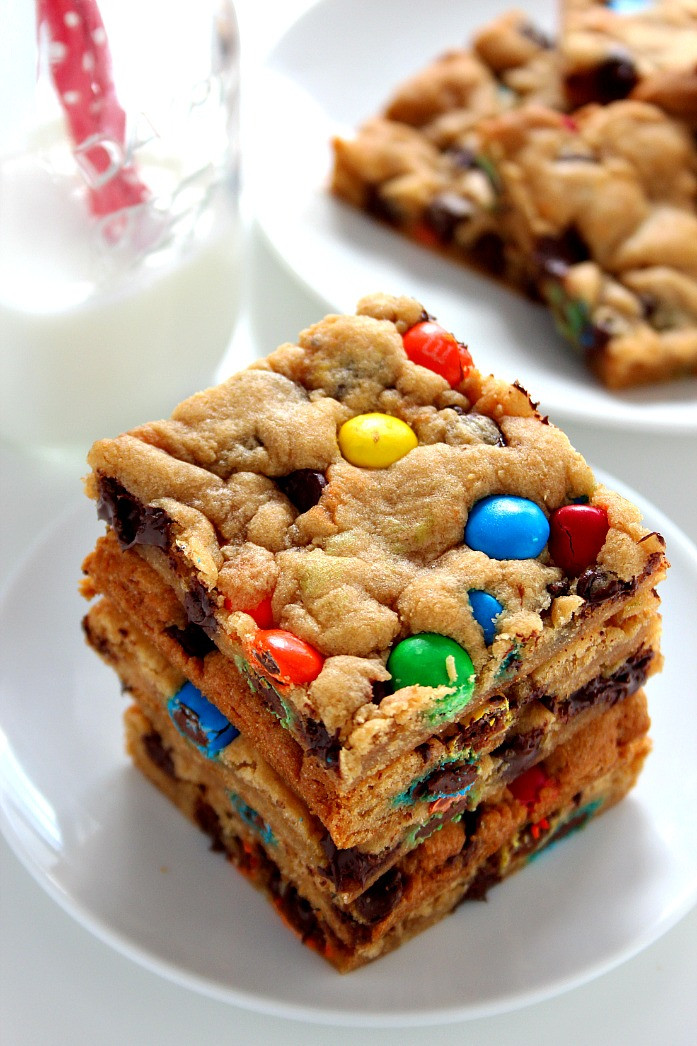 Bar Cookies Recipe  reese s peanut butter chip cookie bars