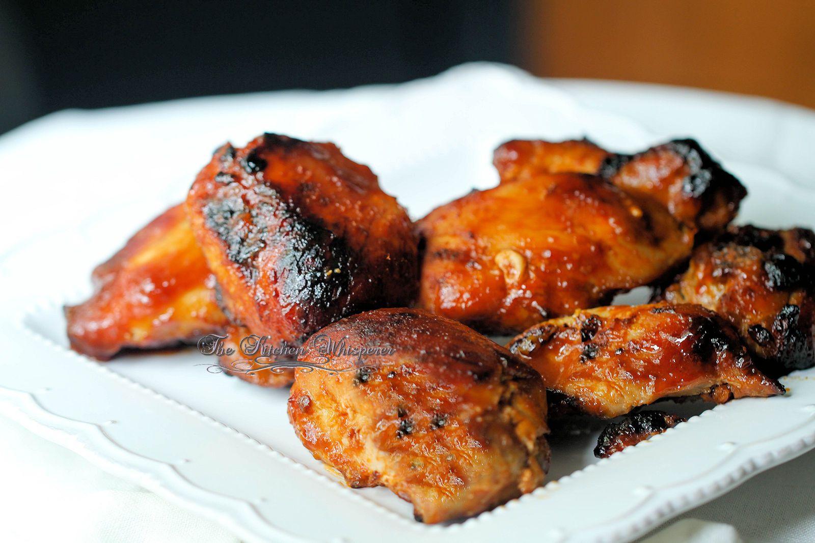 Barbecue Chicken Thighs  Pressure Cooker Honey BBQ Boneless Chicken Thighs