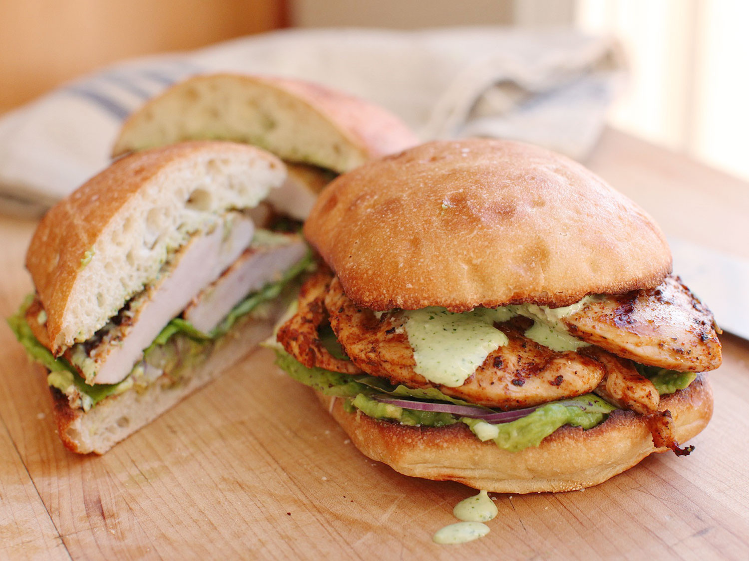 Barbecued Chicken Sandwiches  Make Peruvian Grilled Chicken Portable With These Tasty