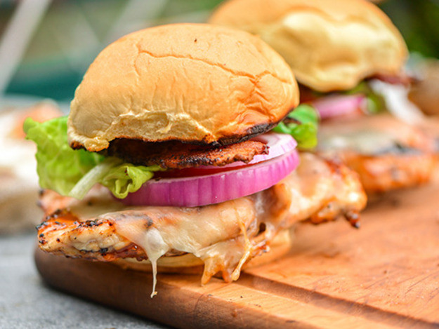 Barbecued Chicken Sandwiches  Grilling Sweet and Spicy Chicken Sandwiches