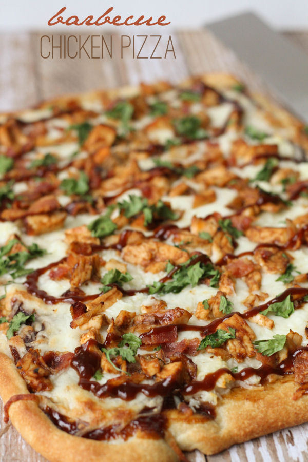 Barbeque Chicken Pizza  Barbecue Chicken Pizza