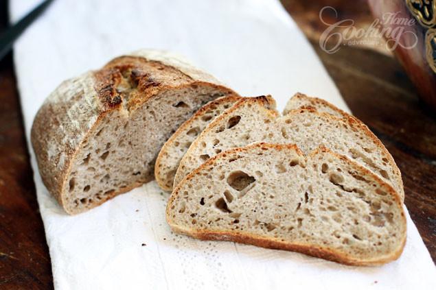 Barley Bread Recipe  Sourdough Barley Bread Home Cooking Adventure