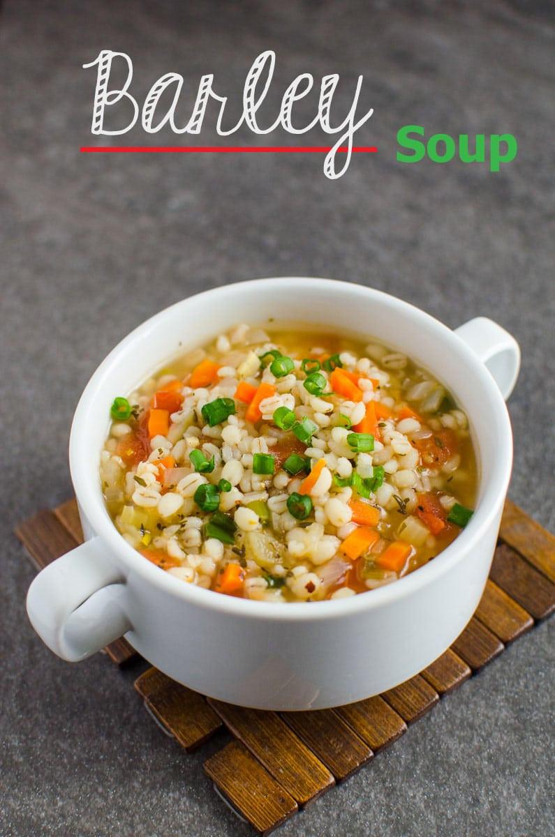 Barley Soup Recipes  Delicious Healthy Barley Soup Recipe