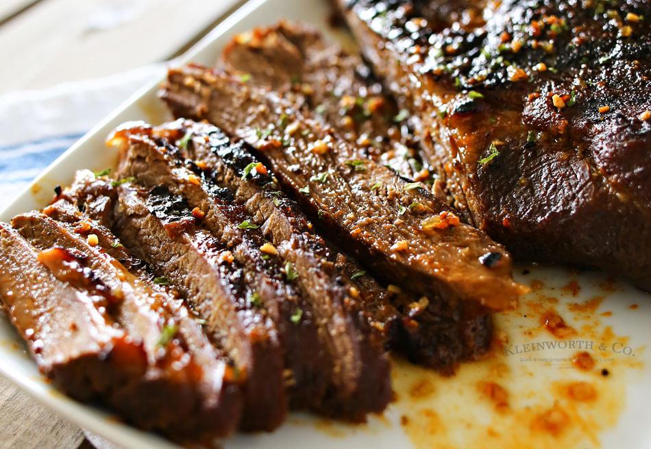 Bbq Beef Brisket  Easy BBQ Beef Brisket Kleinworth & Co