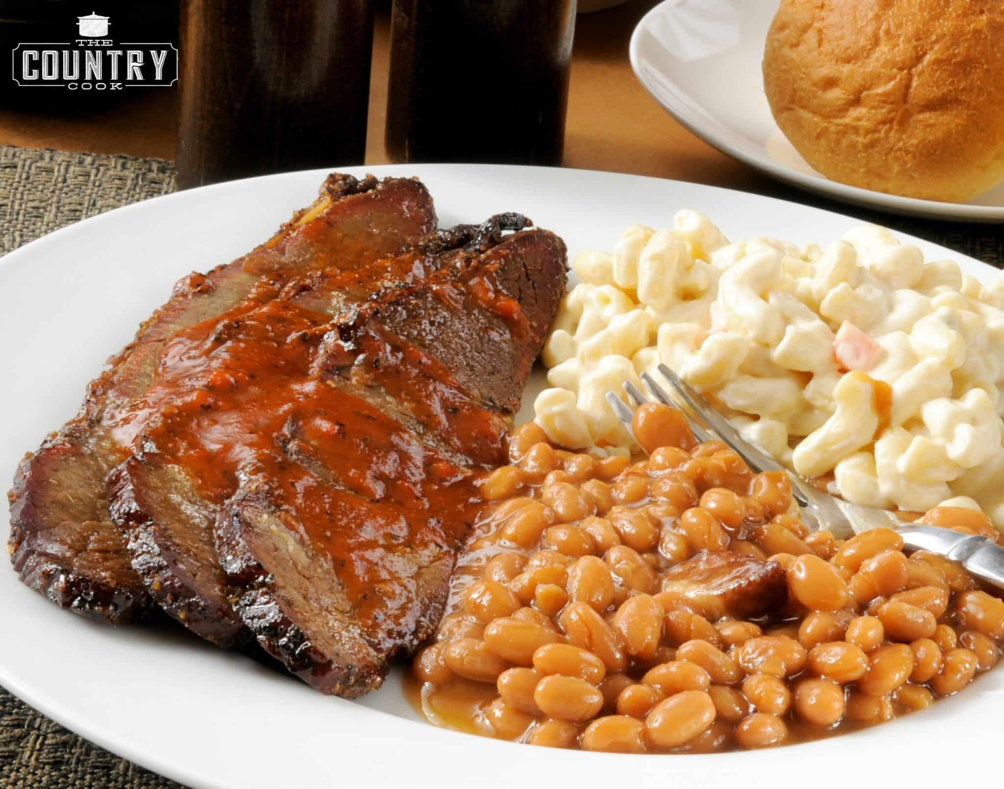 Bbq Beef Brisket  Crock Pot BBQ Beef Brisket The Country Cook