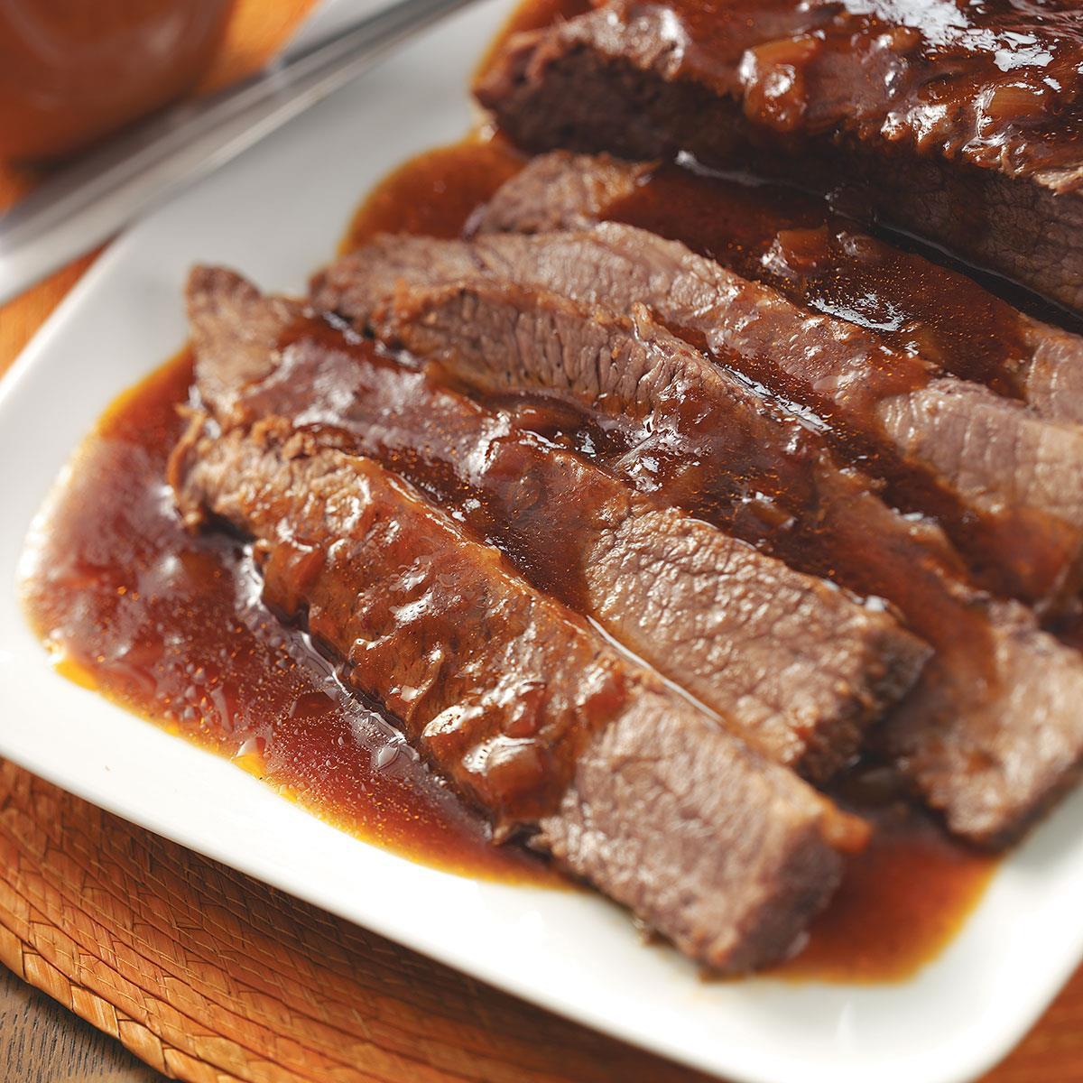 Bbq Beef Brisket  Barbecue Beef Brisket Recipe
