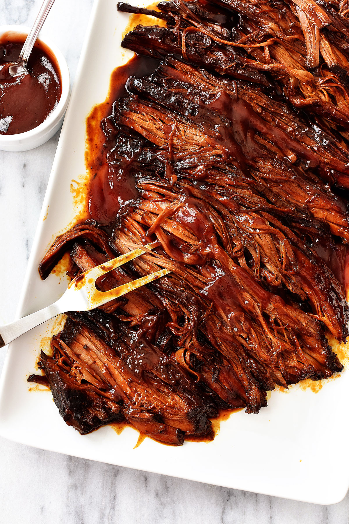 Bbq Beef Brisket  Slow Cooker BBQ Beef Brisket Life In The Lofthouse