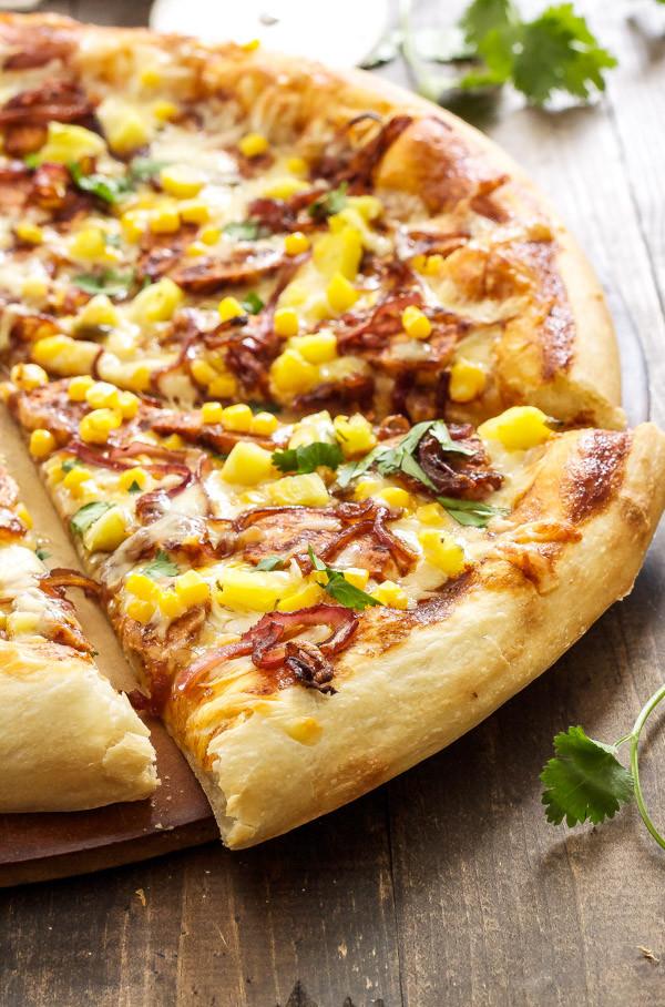 Bbq Chicken Pizza  BBQ Chicken Pizza Recipe Runner