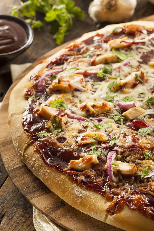 Bbq Chicken Pizza Recipe  easy chicken pizza recipe