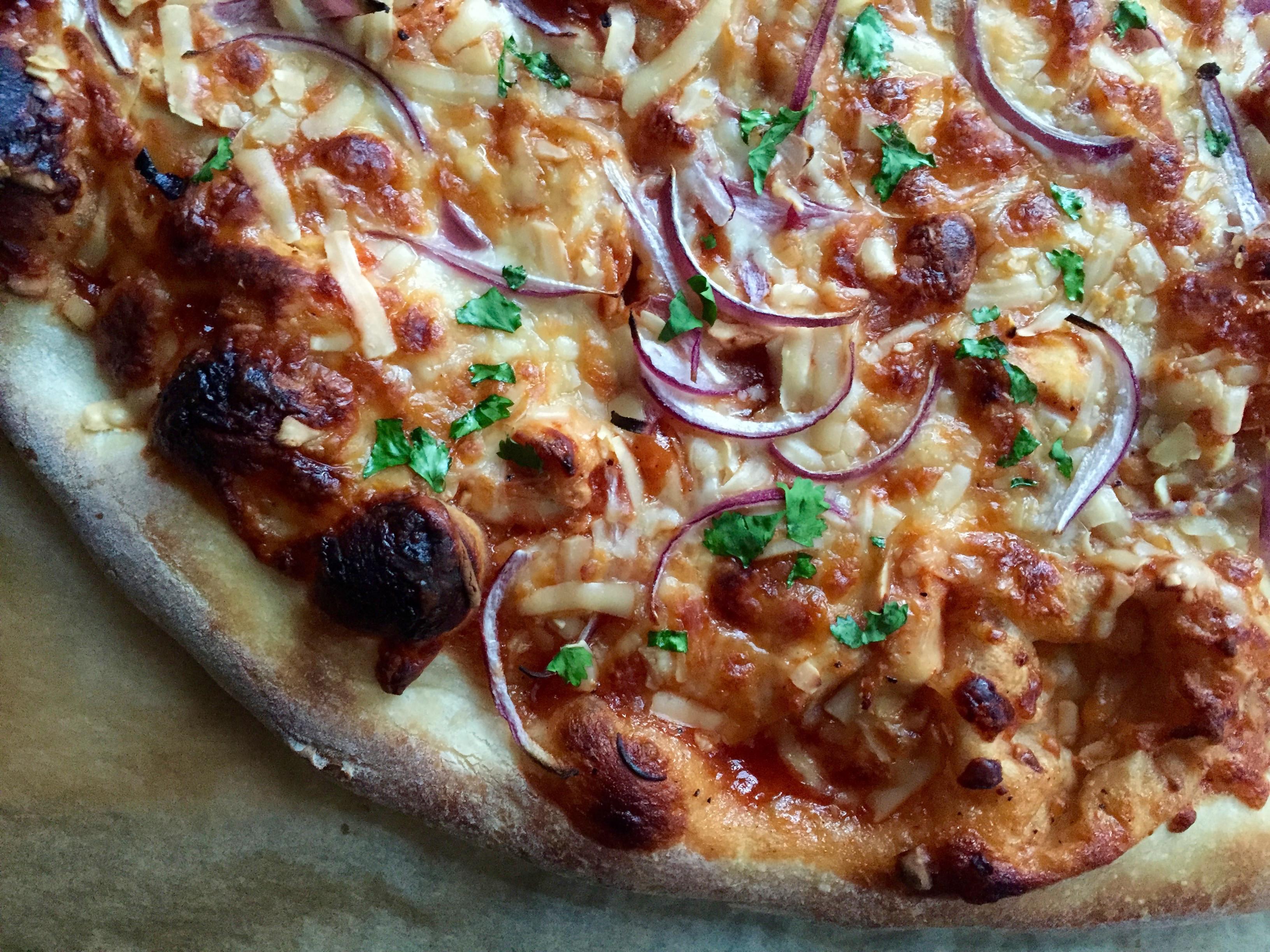 Bbq Chicken Pizza Recipe  California Pizza Kitchen s BBQ Chicken Pizza Copycat