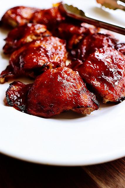 Bbq Chicken Thighs In Oven  Oven BBQ Chicken
