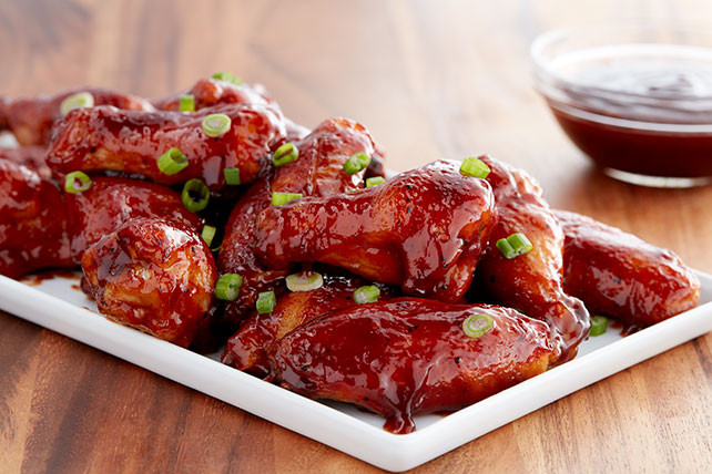Bbq Chicken Wings Recipe  Classic Sweet BBQ Chicken Wings Kraft Recipes