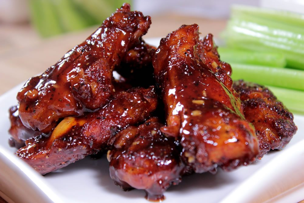 Bbq Chicken Wings Recipe  Honey Barbecue Smoked Chicken Wings Smoking Meat Newsletter
