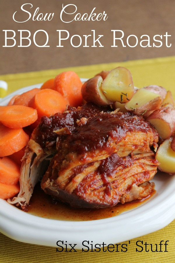 Bbq Pork Loin Slow Cooker  barbecue pork loin slow cooker