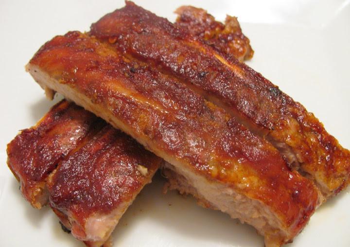 Bbq Pork Spare Ribs  Eat Knit Grow BBQ Pork Spare Ribs