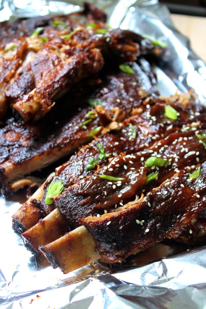 Bbq Pork Spare Ribs  BBQ Pork Spare Ribs with Teriyaki Glaze SAVOIR FAIRE by