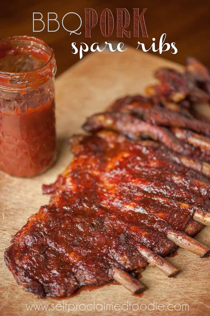 Bbq Pork Spare Ribs  BBQ Pork Spare Ribs Self Proclaimed Foo