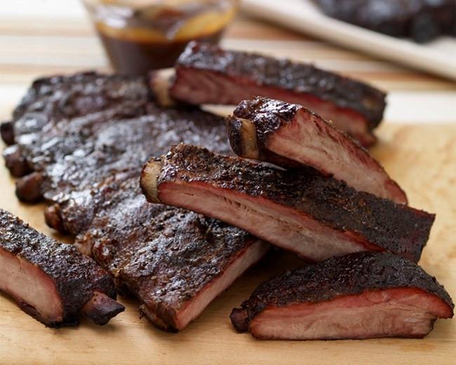 Bbq Pork Spare Ribs  Lobel s BBQ St Louis Style Seasoned Pork Spare Ribs