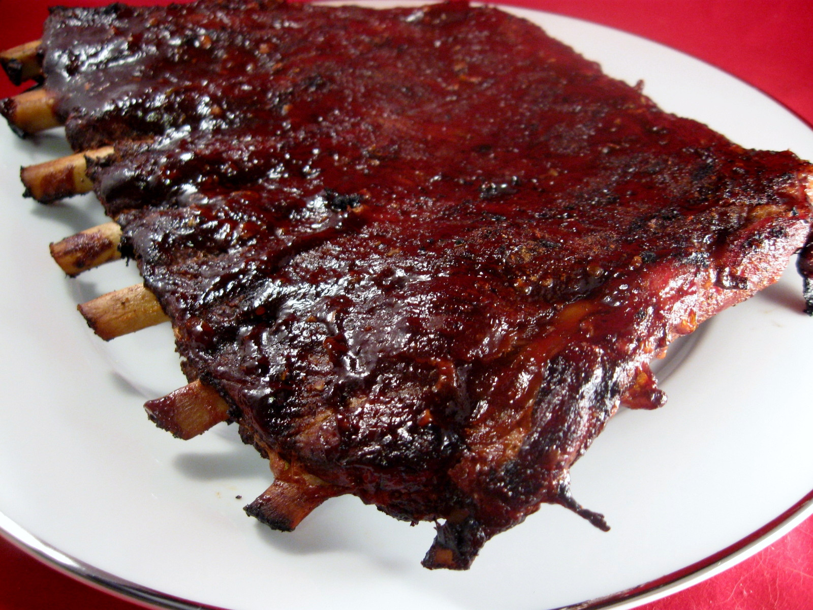 Bbq Sauce For Ribs  Barbeque Rib Sauce Wholistic Woman