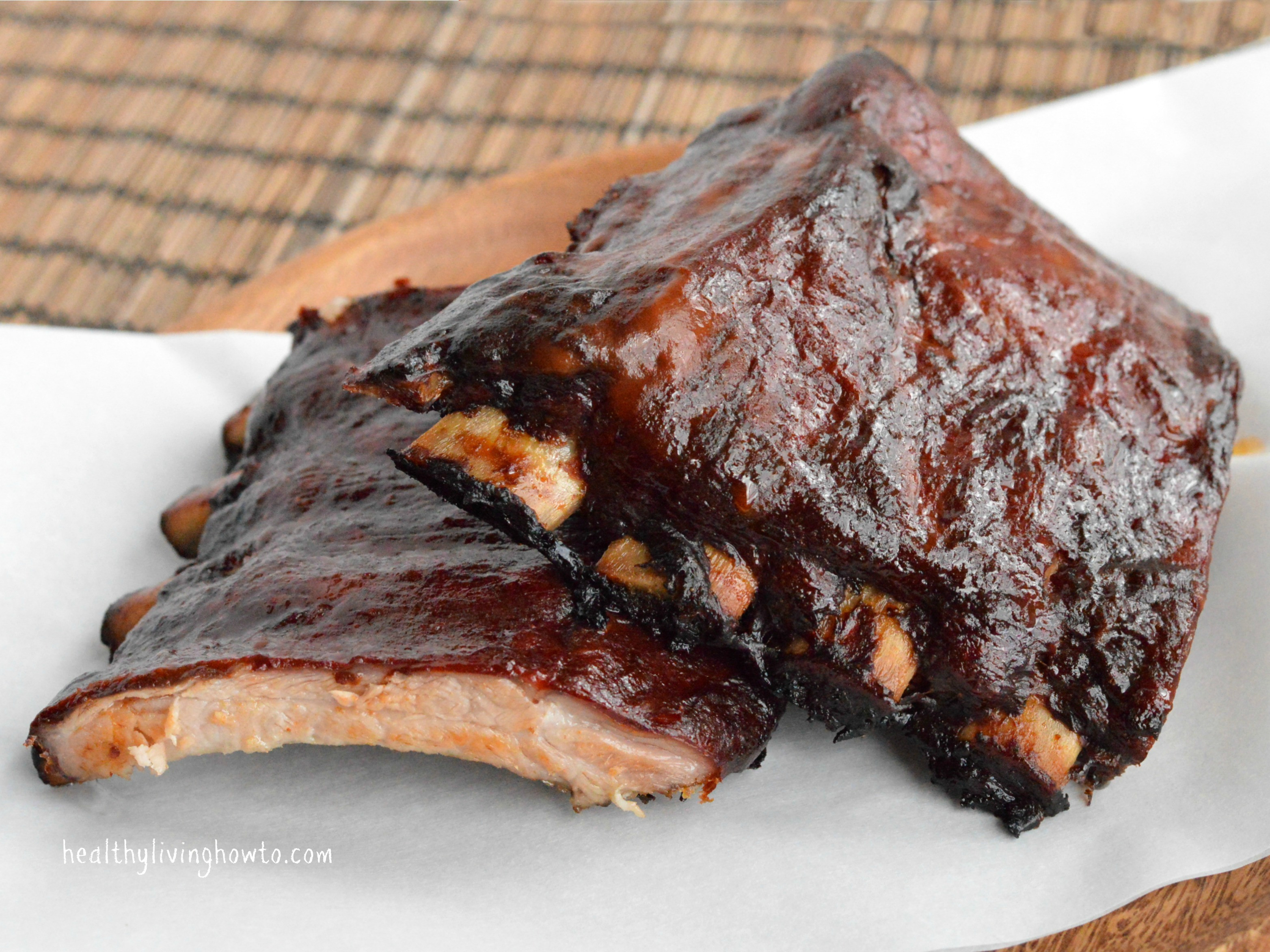 Bbq Sauce For Ribs  Healthy Barbecue Sauce