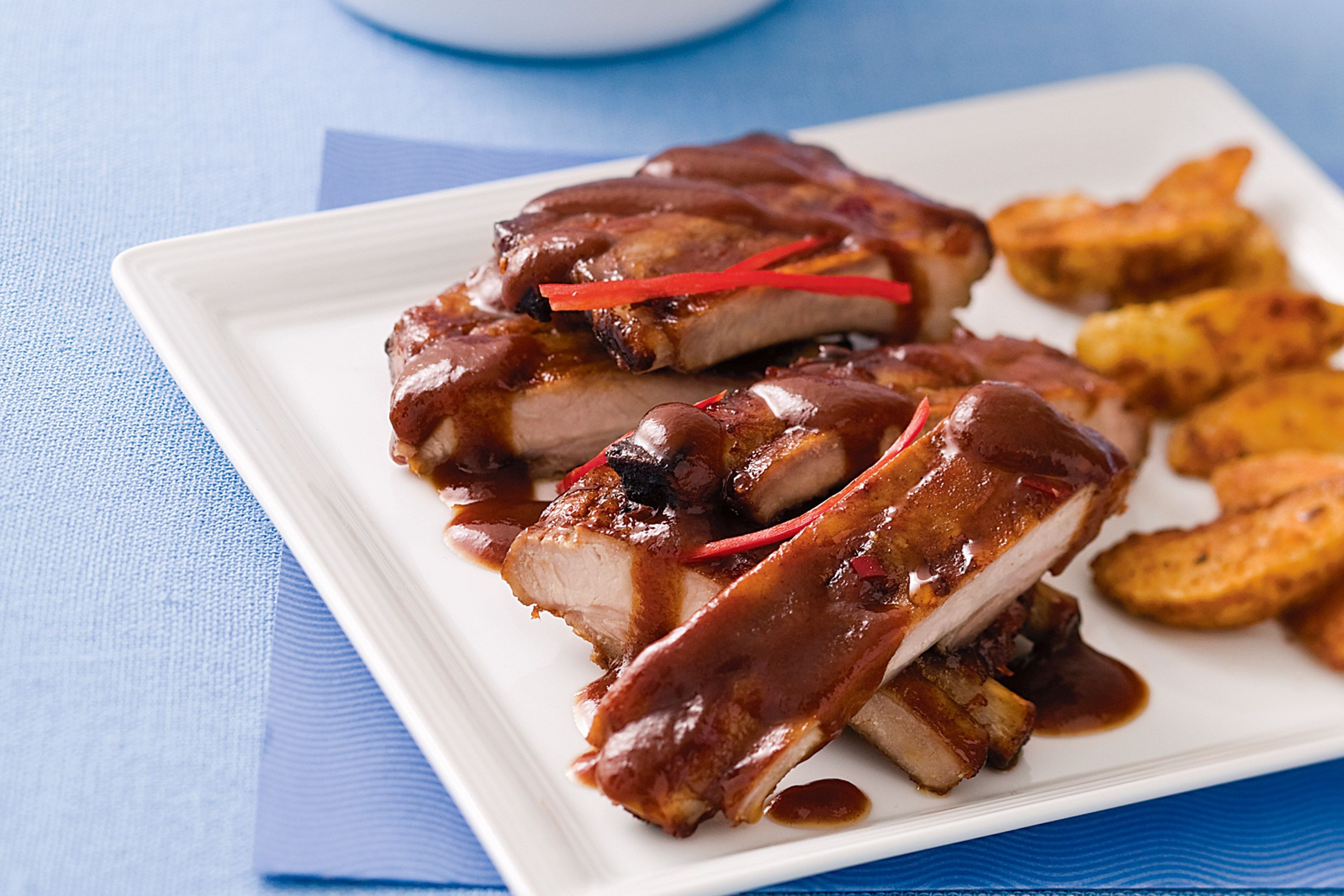 Bbq Sauce For Ribs  grilled pork ribs marinade