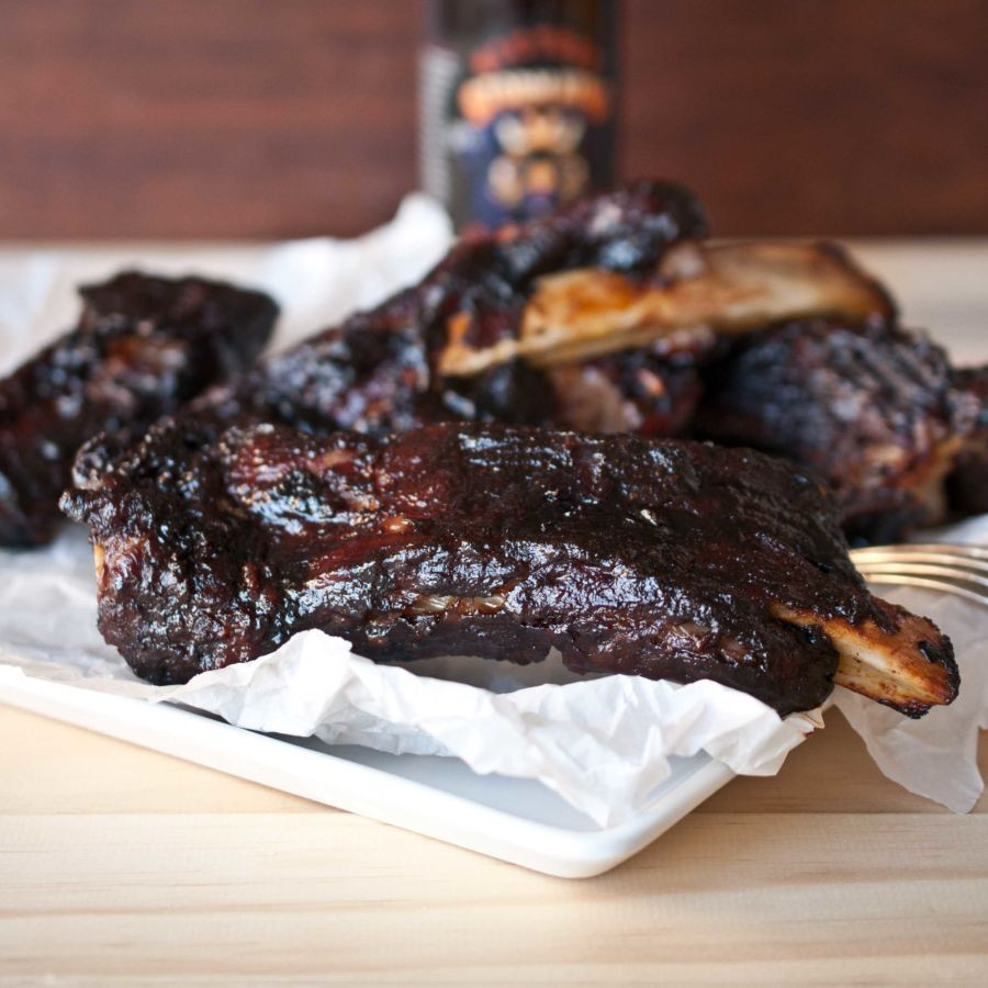 Bbq Sauce For Ribs  Oven Roasted BBQ Ribs With Stout Barbecue Sauce The